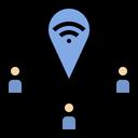 Gps Signal Wifi Icon