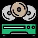 Cd Dvd Music Icon