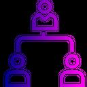 Company Hierarchy Team Icon