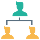 Company Organization Structure Icon