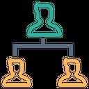 Company Organization Structure Icon