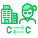 Company To Consumer Icon