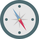 Compass Compass Rose Directional Tool Icon