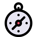 Compass Direction Navigation Icon