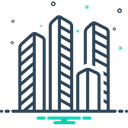 Compenies Offices Property Icon