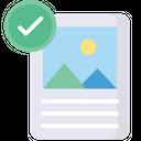 Complete Print Successful Print Approve Print Icon