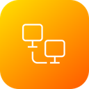 Computer File Sharing Icon