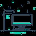 Computer Pc Transfer Icon