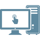 Computer Desktop Device Icon