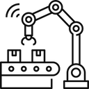 Computer Manufacturing Icon