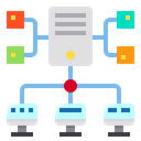 Data Server Network Icon