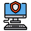 Security Computer Shield Icon