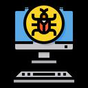 Virus Computer Malware Icon