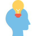 Concept Creative Mind Idea Icon