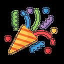 Confetti Event Celebration Icon