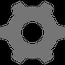 Configure Gear Setting Icon