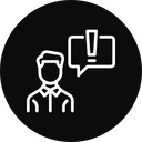 Confuse Think Chatting Icon