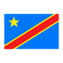 Congo Democratic Republic Flag Nation Icon