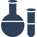 Accessories Conical Flask Culture Tube Icon