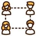 Connection Networking Conversation Icon
