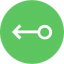 Connection Left Arrow Icon