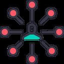 Connection Man Node Icon