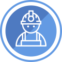 Construction Civil Engineer Icon
