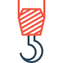Construction Crane Hook Icon