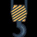 Construction Crane Hook Icon