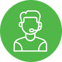 Consultant Customer Support Icon