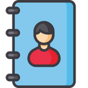 Contact Phone Book Contact Book Icon