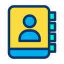 Book Contacts Phone Book Icon