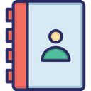 Address Book Contact List Phone Book Icon