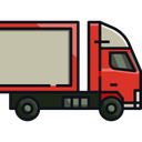 Container Truck Cargo Icon
