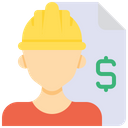 Contract Labor Agreement Agreemnet Icon