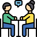 Conversation Meeting Discussion Icon