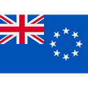 Cook Islands Flags World Icon