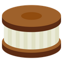 Cookie and Cream Icon
