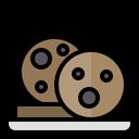 Cookie Cake Dessert Icon