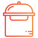 Pot Cooker Electric Device Icon