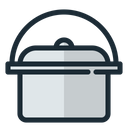 Cookware Cooking Saucepan Icon