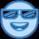 Cool Smile Feeling Icon