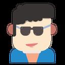 Cool Man Icon