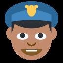 Cop Medium Dark Icon