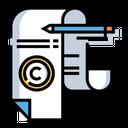 Copyright License Document Icon