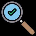 Copyright Successful Search Find Icon
