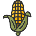 Corn Cereal Vegan Icon