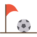 Artboard Football Corner Flag Corner Flag Icon
