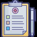 Corona Test Report Medical Report Icon