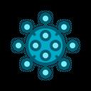 Corona Coronavirus Disease Icon